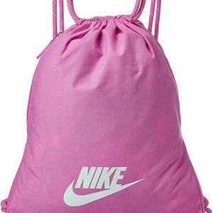 Hot Pink Nike Football Drawstring Bag Backpack Sac